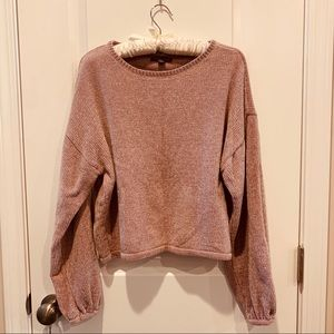 American Eagle Ultra Soft Sweater in Pale Pink